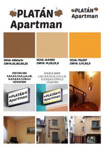 arculat platán apartman
